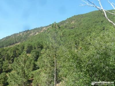 Cascadas Gavilanes,Garganta Chorro;Mijares;rutas x madrid romanico segoviano salidas semana santa